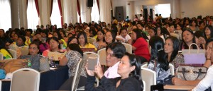 The Day Care Workers and other development partners during the Convention held at Supreme Hotel, Baguio City.